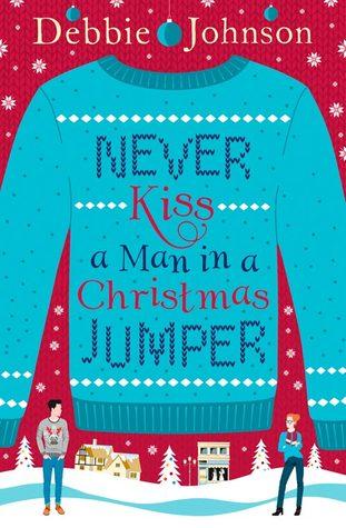 Mai baciare un uomo con una renna sul maglione |